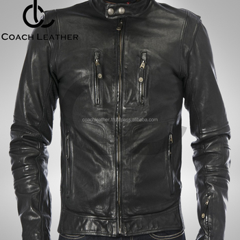Good Style 2018 Slim Fit Casual Windbreaker New Leather Jacket For