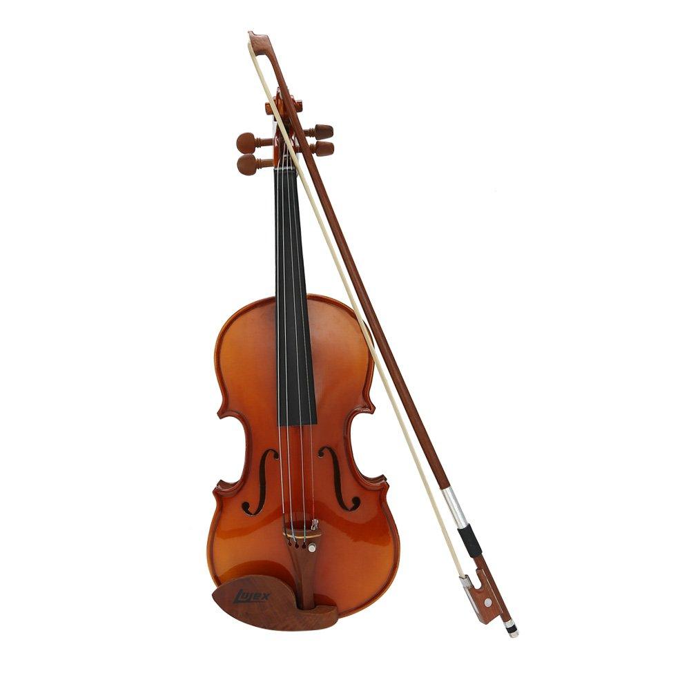 1//4 MagiDeal Plastic Black Violin Shoulder Rest Support 1//8 Fiddle Violin Fiddle Shoulder Rest for Size 1//2 1-2 Black