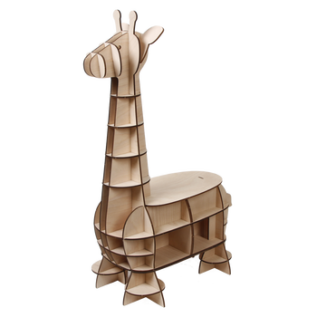 Leading Edge 3d Wooden Giraffe Chair Puzzle For Home Buy Brand Name 3d Puzzledecorative Puzzlewood Interlocking Puzzle Product On Alibabacom