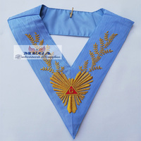 Masonic French rite Worship regalia Collars Masonic Regalia Collars