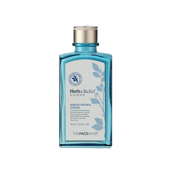 The Face Shop Herb & Relief Homme Sebum-Kontrolllotion 150ml
