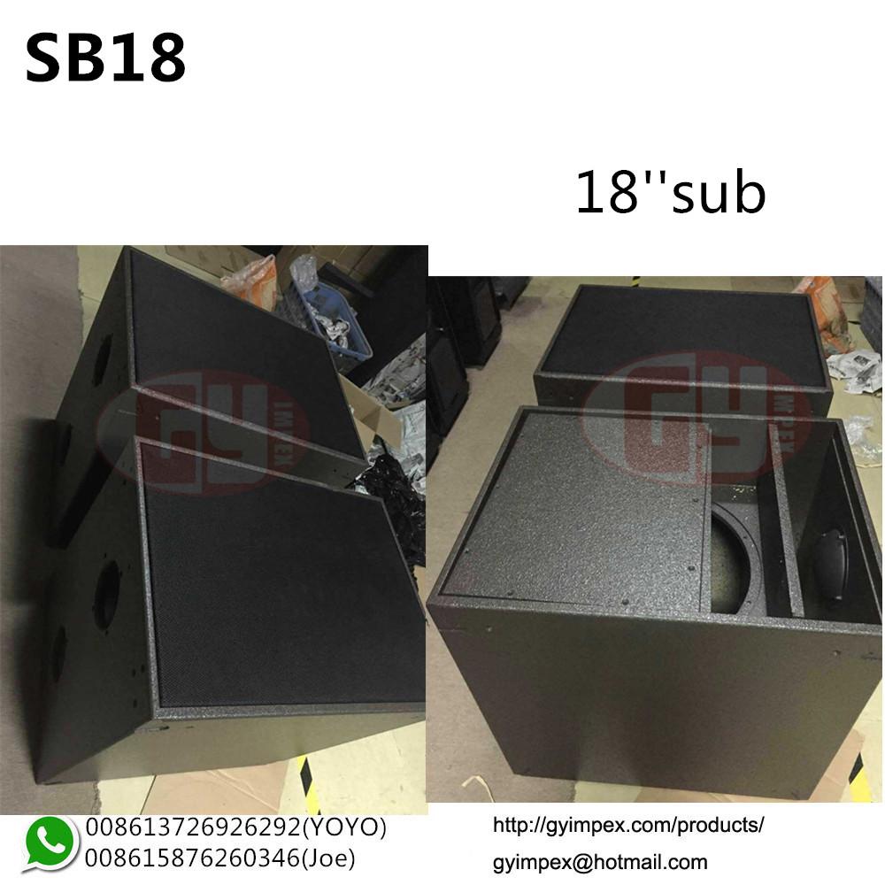 L-Acoustics M-bumper M-bar For SB18 Sub And Kara Line