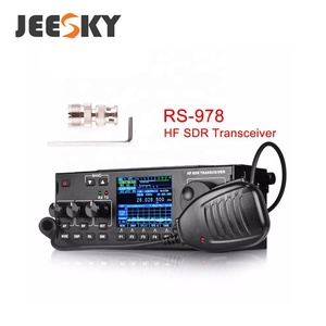 RS-978 SSB(J3E) CW/ AM / FM FREE-DV HF Ham SDR mobile Transceiver with battery/ HF SSB CB RADIO