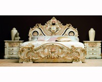 French Louis XVI Antique Luxury Bed furniture NFB14