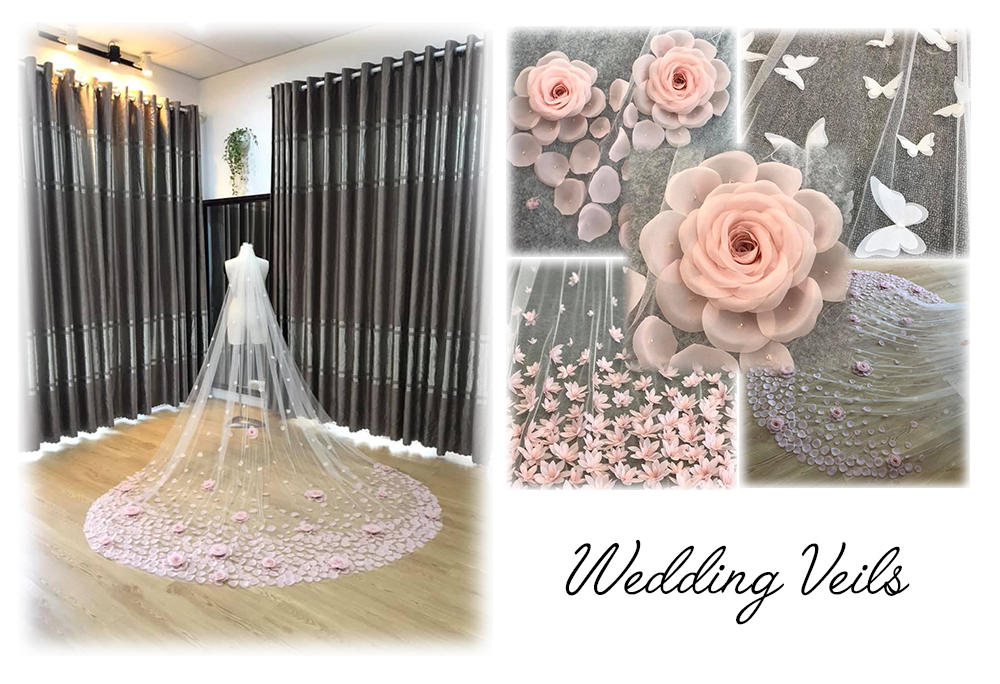 Top Quality Accept OEM Long Bride Veil