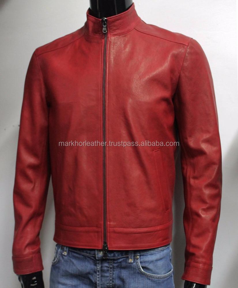 Genuine Soft Lambskin Leather 3 Quarter Sleeved Dress