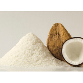 Vegan highly concentrated natural coconut cream powder