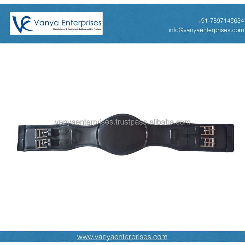 Leather Dressage Girth with SS fittings