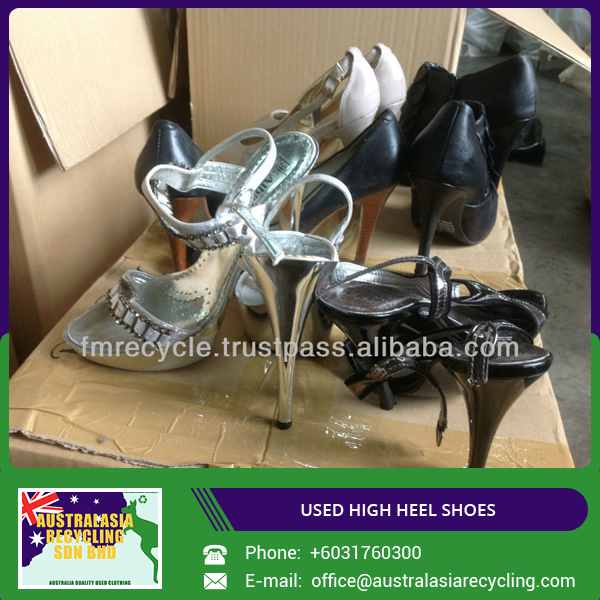 Bulk Selling Used Ladies High Heel Shoes for Wholesale