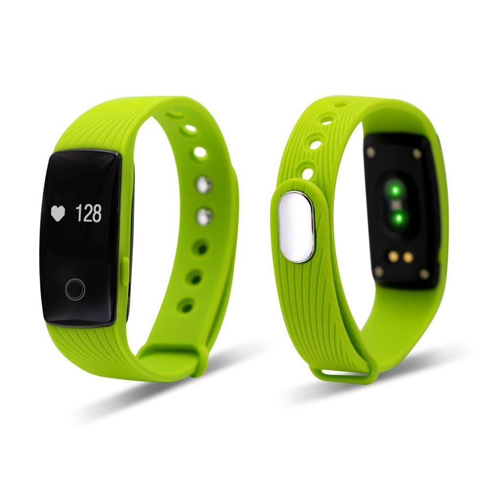 Smart Bracelet fitness band activity tracker with Real-time Heart Rate Monitor Steps Track Calories burnt Movement mileage Sport fitness tracker bracelet for Android IOS wristband watch