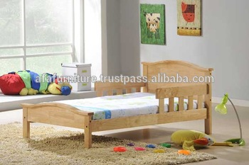 Children Bed Wooden Bed Furniture Toddler Bed Wooden Kid Bed Toddler