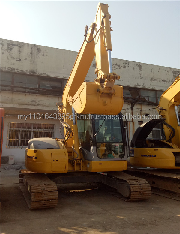 used construction machinery hydraulic heavy equipment Komatsu PC78US crawler excavator