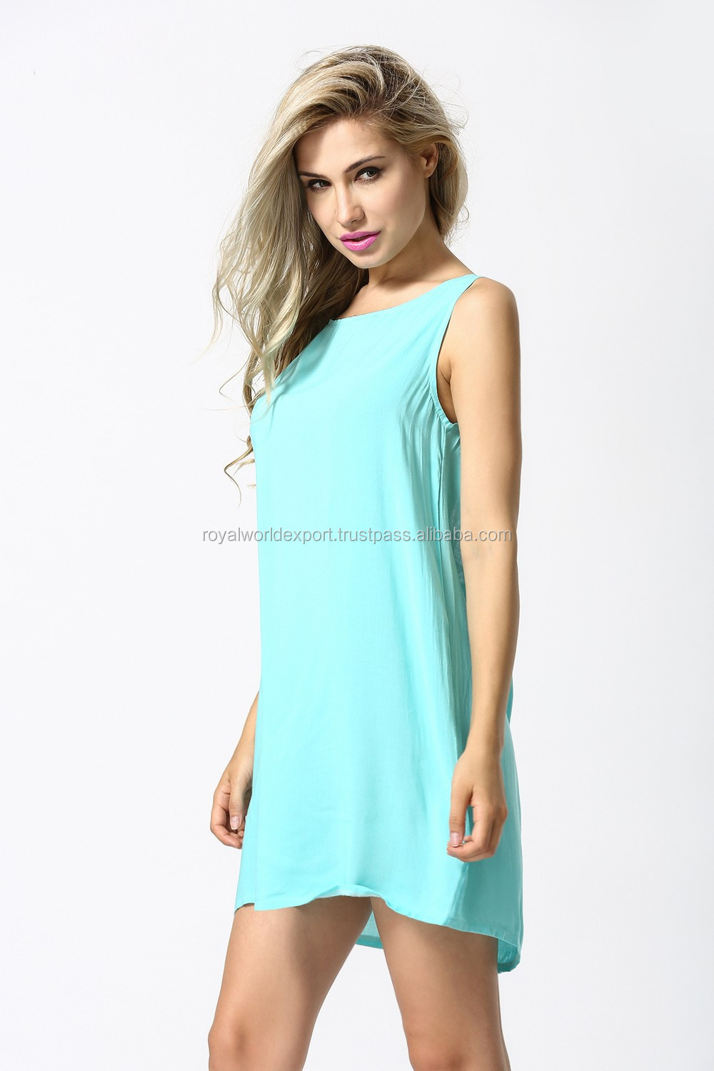 c199bb52 Yarn Dyed Cotton Western Clothing Style For Casual Wear Tunic Dress ...