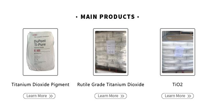 Tio2 Rutile Grade Titanium Dioxide R 902 White Powder