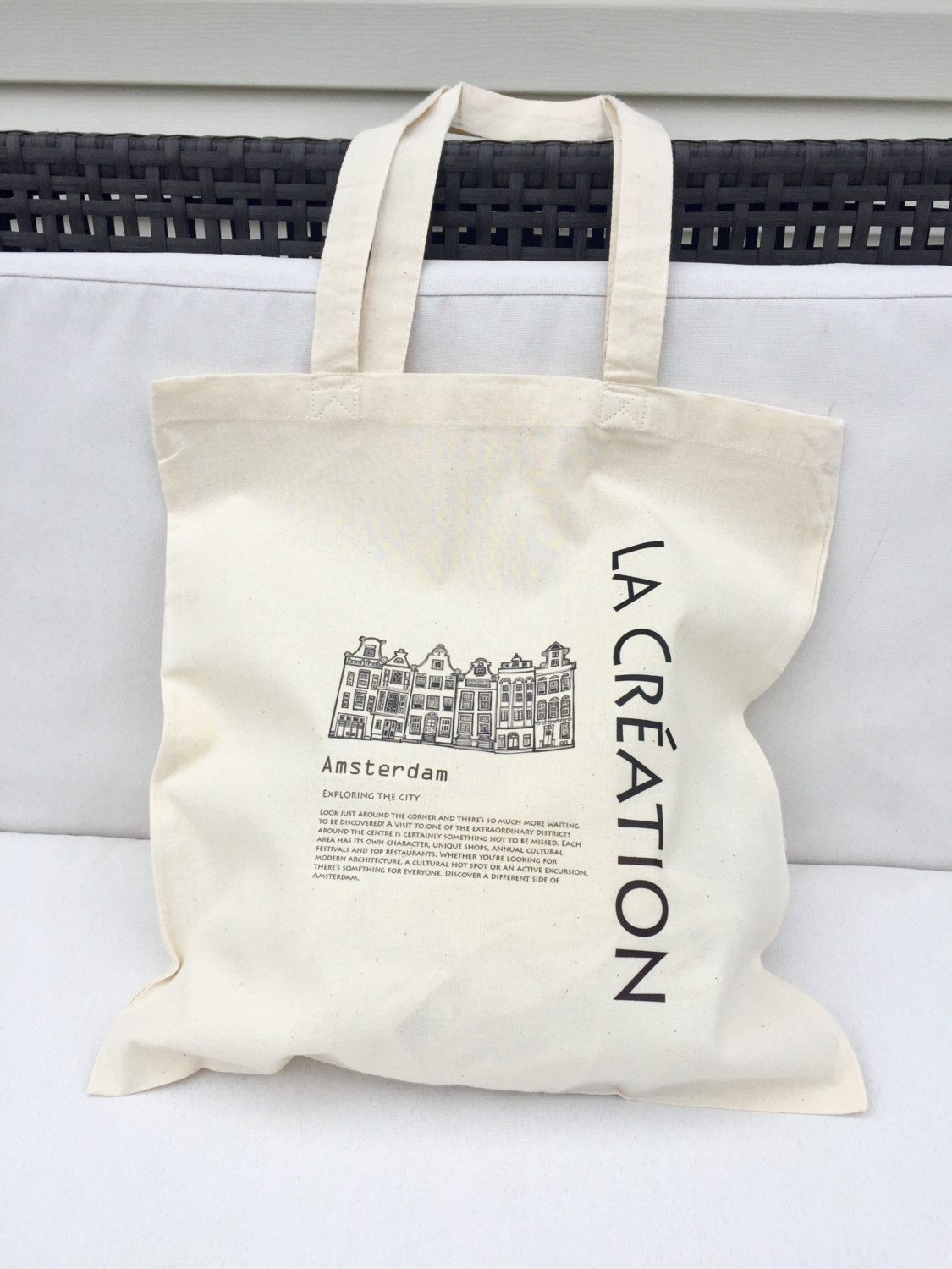 Personalised natural cotton canvas shopping tote bag Heavy Duty Canvas Tote Bag,Shoulder Bag, 100% Biodegradable Cotton