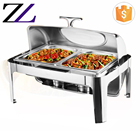 9L China supplier catering equipment stainless steel food warmer serving set high gloss buffet kitchen wares and chefing dish