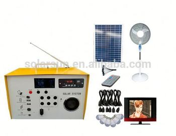 Mini Home electrical Solar Energy Portable Power Source/ solar system 3w 5w 10w