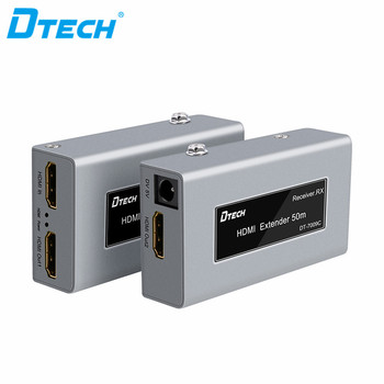 China factory Newest 60m Ethernet  Splitter Over Cat5e/cat6 3D 1080P loop  HDMI extender