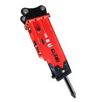 Yantai manufacturer for excavator hydraulic breaker edt 2200