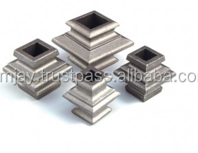 Aluminum Picket Collars For Square Bar