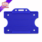 Economy Open Faced Plastic ID Name Card Holder