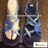 Dobbytex DBTS17 Pastel Twist Handmade rope Sandals/Shoes Hill tribe / Hmong / Summer / African