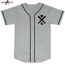 100% polyester blanco <span class=keywords><strong>ontwerp</strong></span> custom honkbal jerseys met botton