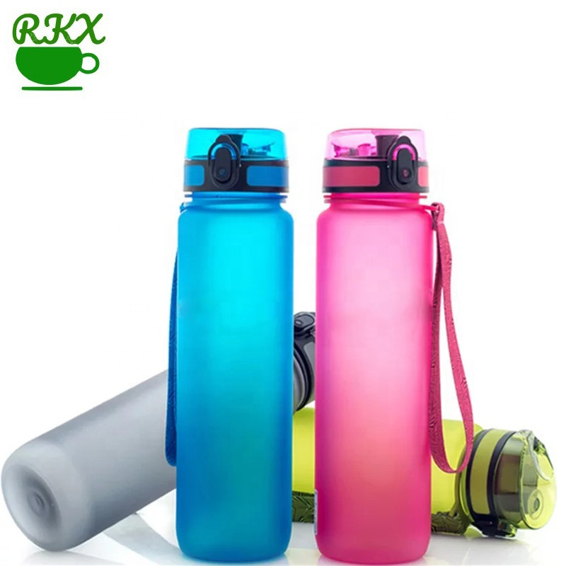 1000ml Protein Shaker Portable Motion My Tritan Water Bottle Bpa Free Plastic water bottle For <strong>Sports</strong> Camping Hiking