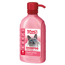 "Miss Kiss ""Elegant panther"" - Shampoo conditioner for short hair cat, 200 ml"