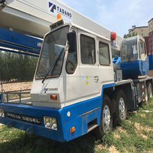 Origin from Japan used Tadano TG650E heavy construction machinery 60 ton used truck crane for sale