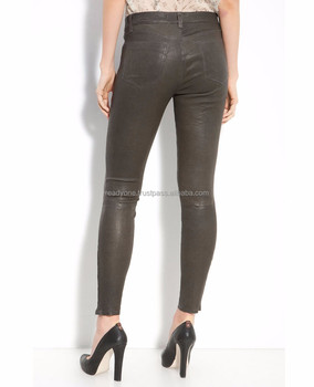 7c21a8c46a9bc Sexy Black Punk Women Casual Tight Leather Pencil Pants - Buy ...