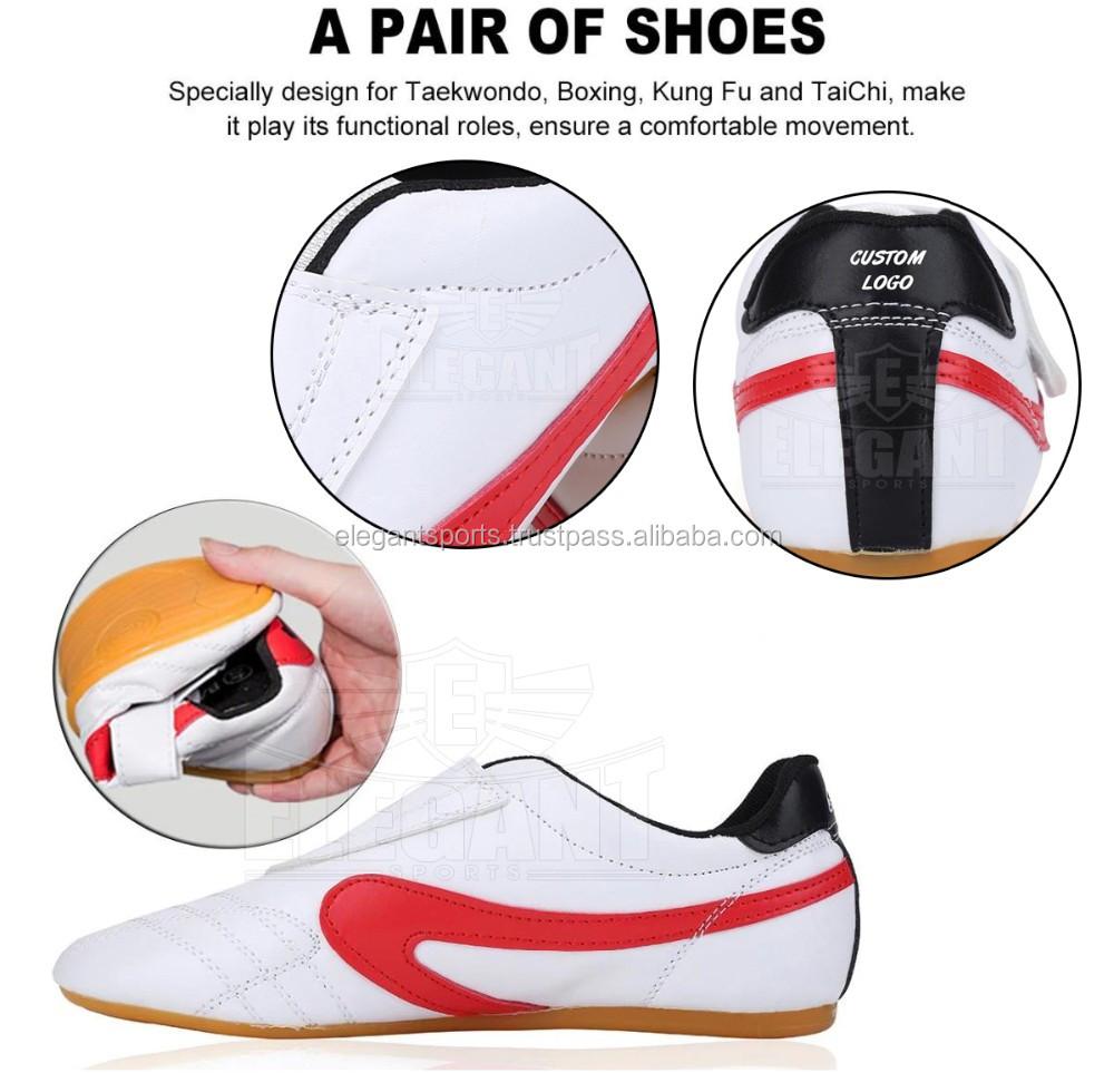 Unisex Shoes Children Adults for Taekwondo Boxing Kung Fu Gym Sports Training