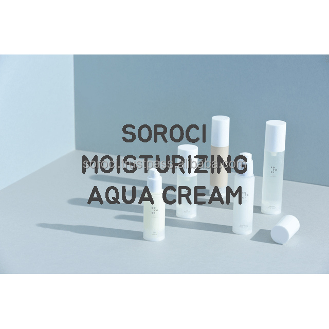 [SOROCI] AQUA CREAM / Organic cosmetics / Skin care /Facial / Natural cosmetics