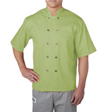 Lange Mouwen Chef Jas Mandarijn Stijl Kraag Double Breasted Knop Chef <span class=keywords><strong>Keuken</strong></span> Chef Jas Uniform