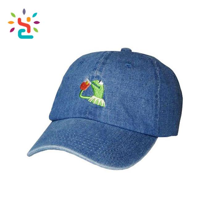 Custom Uk Us Gb No Ca De Es Fr In Kermit Logo Dad Caps Hats Dad Hats ... 3206c2df11c