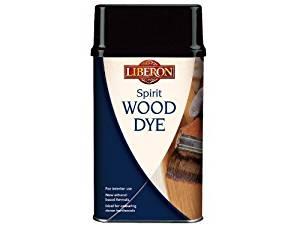 Liberon WDSE250 Spirit Wood Dye Ebony 250ml by Liberon