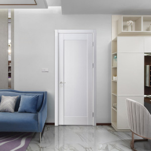 Pre-hung door design interior flush wooden door