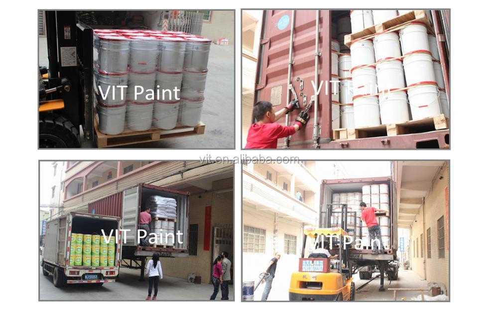 VIT Steel protection fireproof intumescent paint