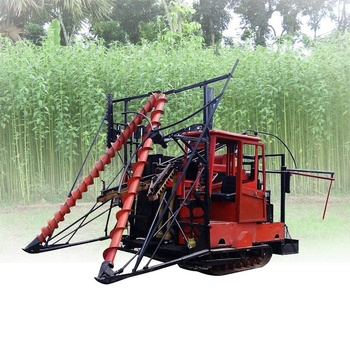 Shuliy March Exp hemp jute Kenaf Ramie reaper harvester machine sorghum harvesting machine