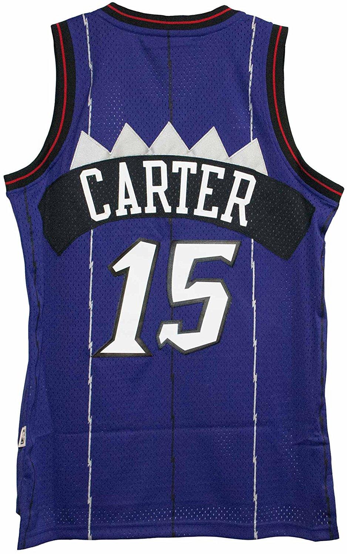 87d4c0b3453 Get Quotations · Vince Carter Toronto Raptors Purple Throwback Swingman  Jersey