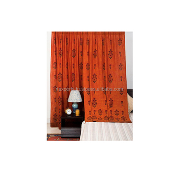 Window Curtain Pure Cotton Factory Price India
