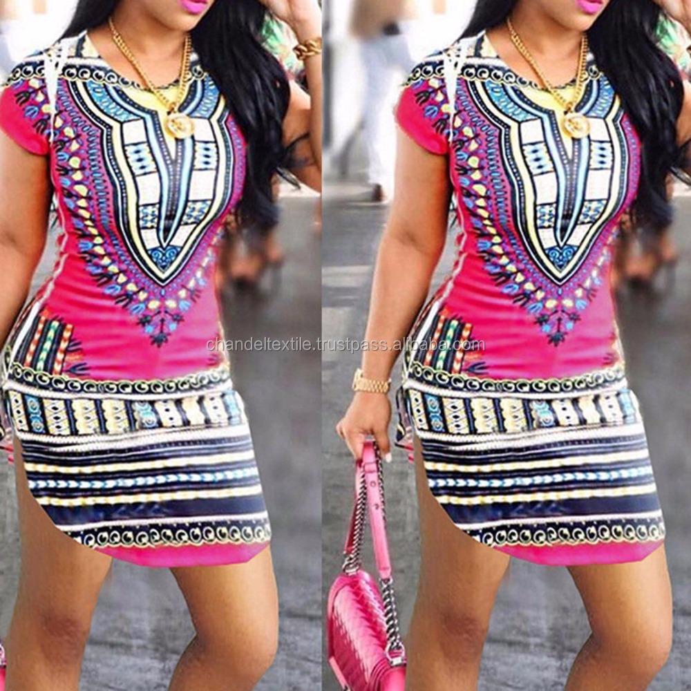Ladies New Long Dashiki Dress African Tribal Hippie Long Kaftan dress 12 to 24