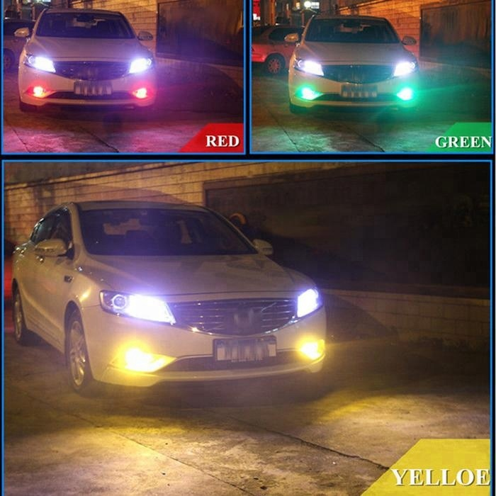 Car styling 6SMD auto led lamp  Flashing multi color rgb t10 w5w 5050 car interior light