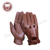 2018 Custom made fashion Driving gloves sheepskin Men's Sheep fashion leather for Mens & womens.