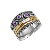 Spinner Ring solid 925 sterling silver - Birthstone Gemstone 14k Gold Plated Spinners vintage jewelry Wholesale Bohemian Fashion