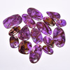 100% natural mix shape in all sizes Rock Sugilite cabochons