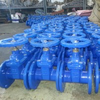 Ductile Iron GGG40 Soft Sealing DIN3352 F4 Gate Valve