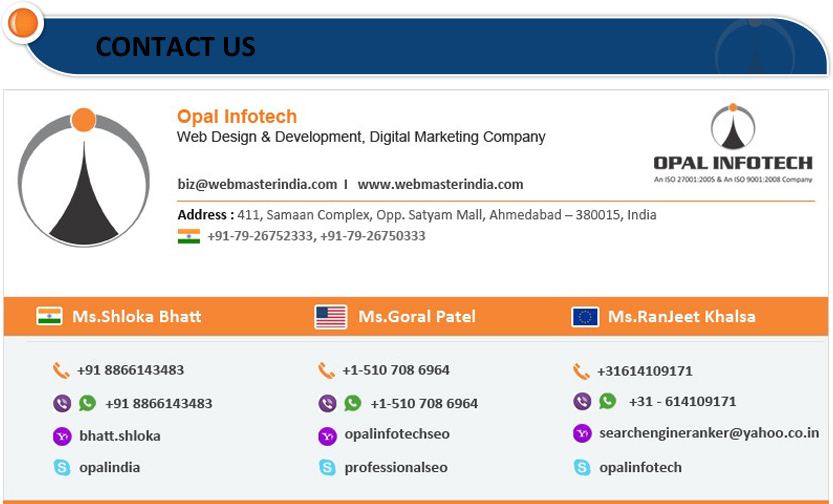 Highly Qualified and Experienced Joomla VirtueMart Developers in Opal Infotech.