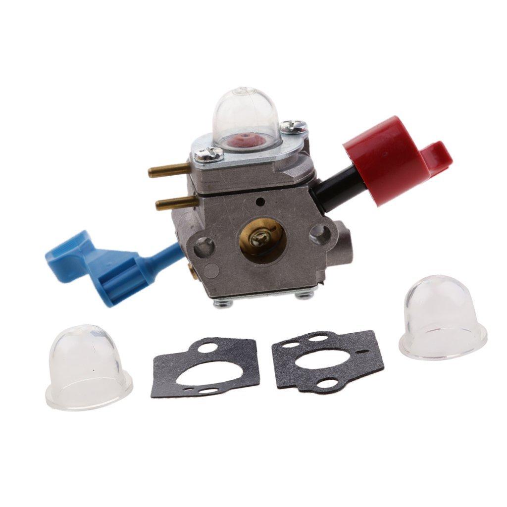 MonkeyJack Carburetor Kit For Poulan FL1500 FL1500LE For Zama C1U-W12B C1U-W12A Carb