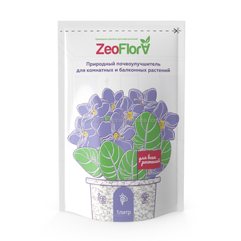 Soil conditioner ZeoFlorafor balcony plants, 1 liter